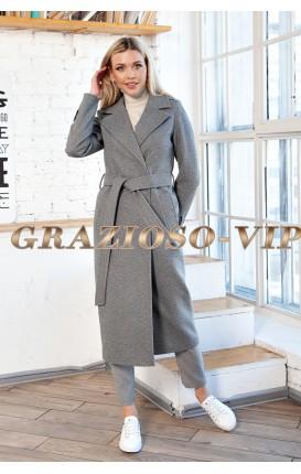 Весеннее пальто классического кроя