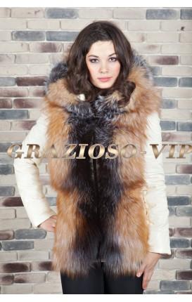 Шикарная куртка–жилетка
